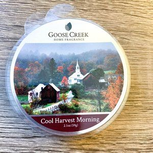 Goose Creek - NWT Cool Harvest Morning Wax Melt